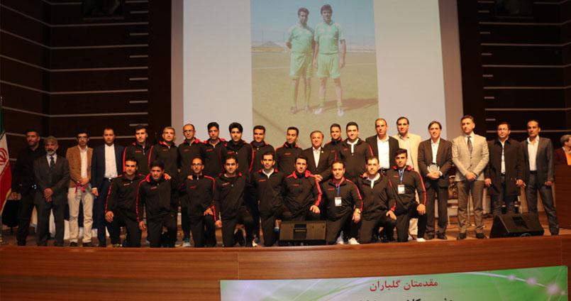 گزارش تصویری از برگزاری مراسم افتتاحیه اولین دوره مسابقات فوتبال سراسری وکلای دادگستری ایران